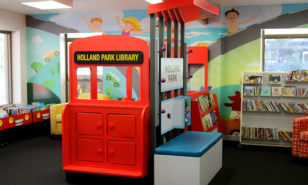 Brisbane City - Library Services