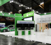 Microsoft+XBOX+Exhibition+Stand+at+EB+Games+View2