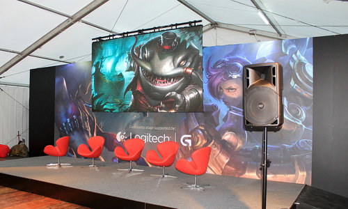 Riot Games Stage Event