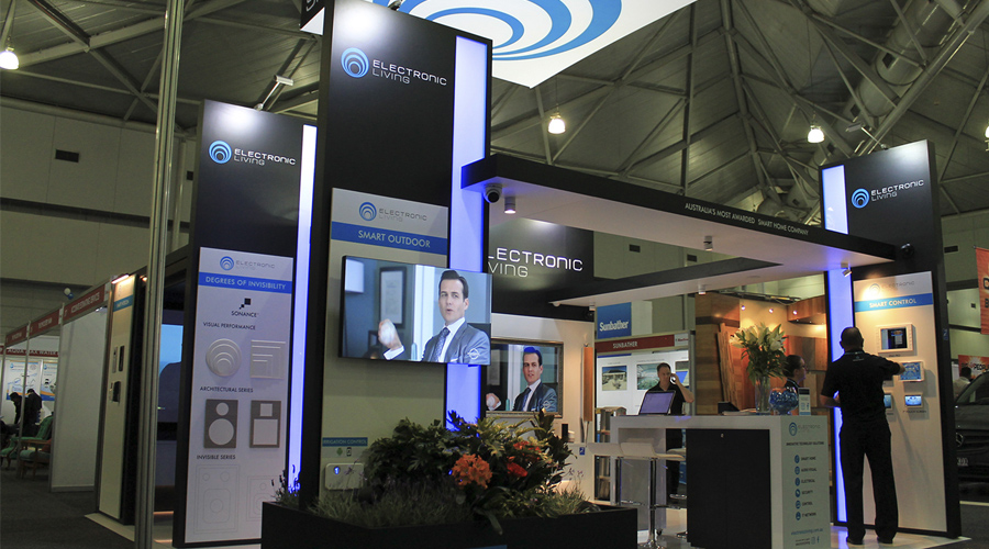 Electronic Living Exhibition Stand