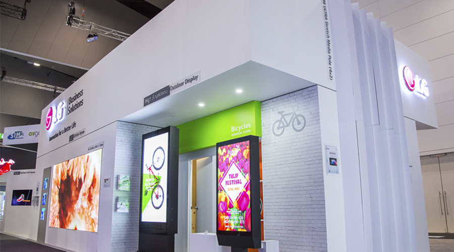 LG Exhibition Stand